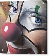 Clown Mural Acrylic Print