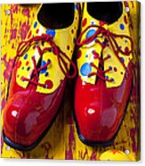 Clown Shoes And Balls Acrylic Print