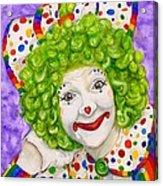 Watercolor Clown #12 Sue Marranconi Acrylic Print