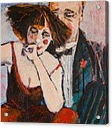 Clowning Around Acrylic Print by Jennifer Croom