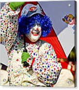 Clowning Around Acrylic Print