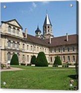 Cluny Abbey - Burgundy Acrylic Print