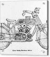 Clyno-harley-davidson Acrylic Print