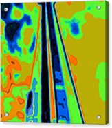 Cn Tower Abstract Acrylic Print