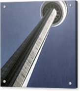 Cn Tower Acrylic Print by Joana Kruse