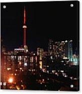 Cn Tower Acrylic Print