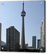 C N Tower Toronto Acrylic Print