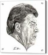 Coach Acrylic Print by Tamir Barkan