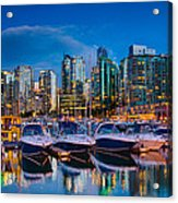 Coal Harbour Acrylic Print by Ian Stotesbury