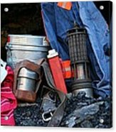 Coal Miner Acrylic Print