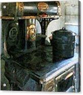 Coal Stove Acrylic Print