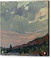 Coast At Sunset Acrylic Print by Juliya Zhukova
