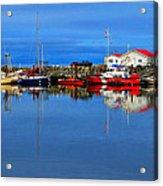 Coast Guard At French Creek Acrylic Print