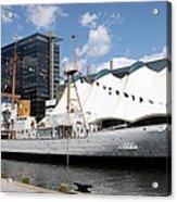 Coast Guard 37 - Baltimore Harbor Acrylic Print