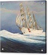 Coast Guard Bark Eagle Acrylic Print