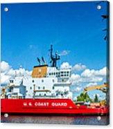 Coast Guard Cutter Mackinaw Acrylic Print