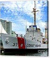 Coast Guard Cutter Taney Acrylic Print