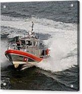 Coast Guard In Action Acrylic Print