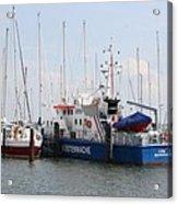 Coast Guard Maasholm Harbor Acrylic Print