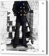 Coast Guard Sailor 1942 Acrylic Print