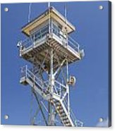 Coast Guard Tower Acrylic Print