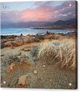 coast of Crete 'I Acrylic Print