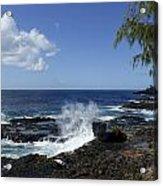 Coast Of Kauai Acrylic Print