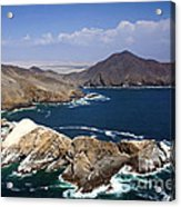 Coast Of Peru Acrylic Print