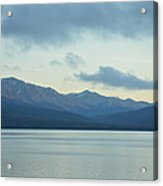 Coast Ranges In Alaska Acrylic Print