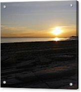 Coast Sunset Acrylic Print