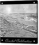 Coastal Calibration Acrylic Print