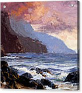 Coastal Cliffs Beckoning Acrylic Print