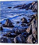 Coastal Cliffs Acrylic Print