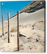 Coastal Dunes In Holland 2 Acrylic Print