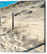 Coastal Dunes In Holland 3 Acrylic Print