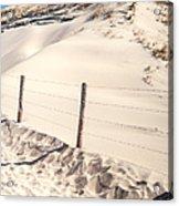 Coastal Dunes In Holland Acrylic Print