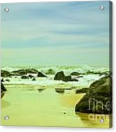 Coastal Landscape Of Sri Lanka Acrylic Print