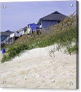 Coastal Living In Topsail Beach Nc Acrylic Print