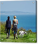 Coastal Path Walk Acrylic Print