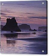 Coastal Reflections Acrylic Print by Andrew Soundarajan