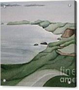 Coastal Ribbon Acrylic Print