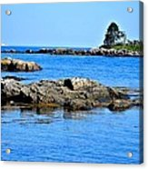 Coastal Route 1 In Maine Acrylic Print