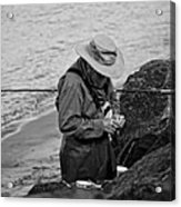 Coastal Salmon Fishing Acrylic Print