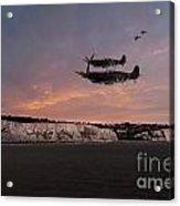 Coastal Spitfires Acrylic Print