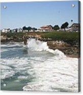 Coastline  Santa Cruz -  California Acrylic Print
