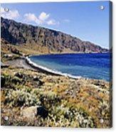 Coastline Of Hierro Island Acrylic Print