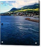 Coastline Of St Kitts Acrylic Print