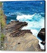 Coastline Splendor Acrylic Print