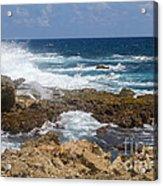 Coastline Surge Acrylic Print