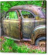 Coat Of Different Colors- Auto Personalities #3 Acrylic Print